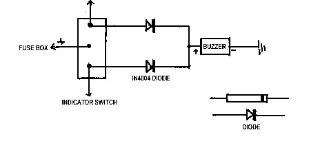 Indicator Buzzer Wiring Diagram on wiring diagrams alarm cars